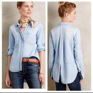 Cloth & Stone Anthropologie Women's Button Up XS